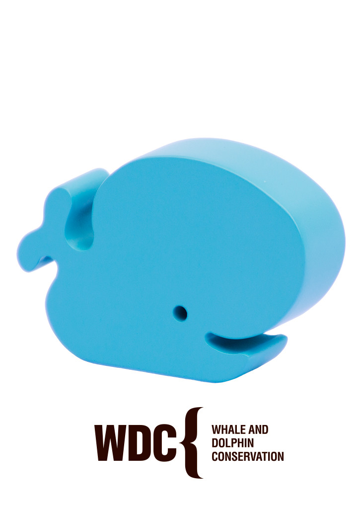 Walter the Happy Whale (in turquoise)